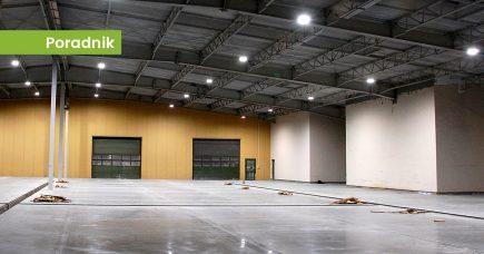 Nowoczesne oświetlenie hal produkcyjnych i fabryk