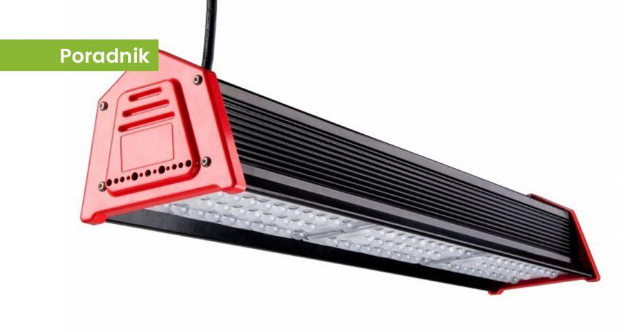 Nowoczesne Oprawy Przemysłowe Liniowe Technologia Led