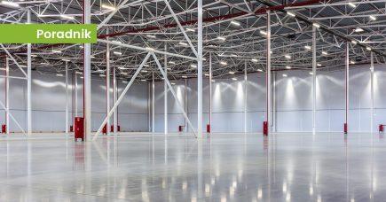 Projekt oświetlenia hali produkcyjnej