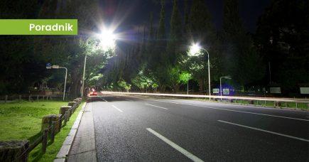 Projektowanie oświetlenia ulicznego