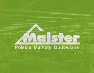 Oświetlenie marketu budowlanego Majster