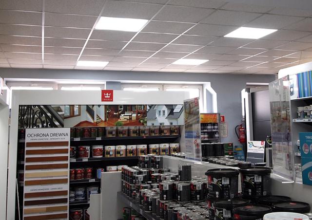 Lampy przemysłowe LED dla Sklep Multifarb