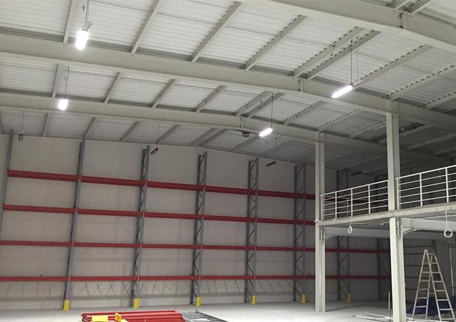 Lampy przemysłowe LED dla Technid