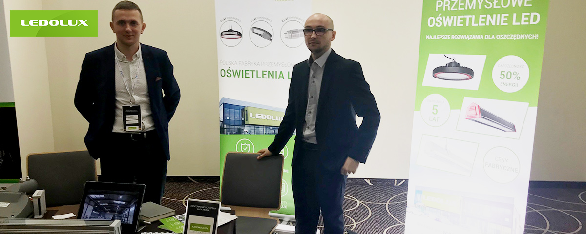 Stoisko LEDOLUX Poland na Targach Wschodnich