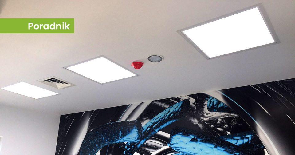 Oświetlenie biurowe sufitowe LED produkcji LEDOLUX