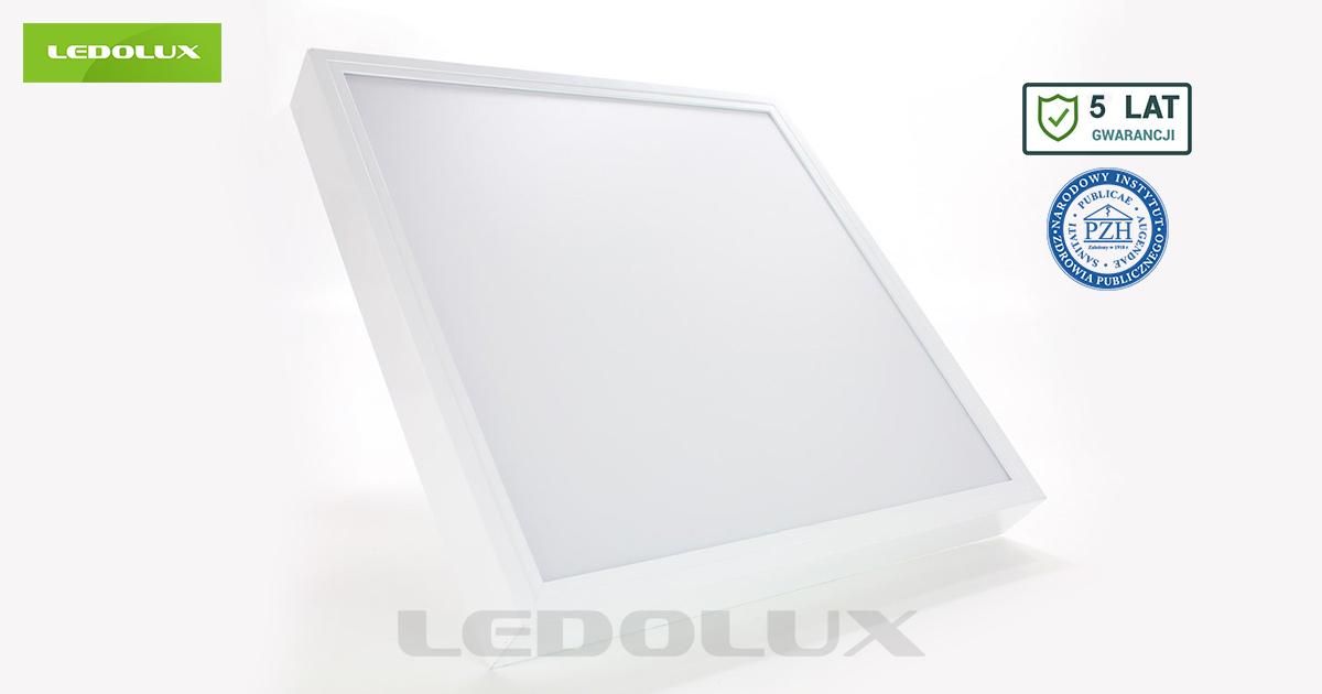 Oświetlenie biurowe Panel LED SQR