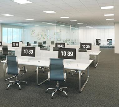 Zoptymalizowana przestrzeń w biurze