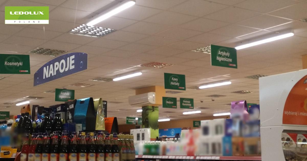 Projekty Oświetlenia Powierzchni Handlowych Nowoczesne