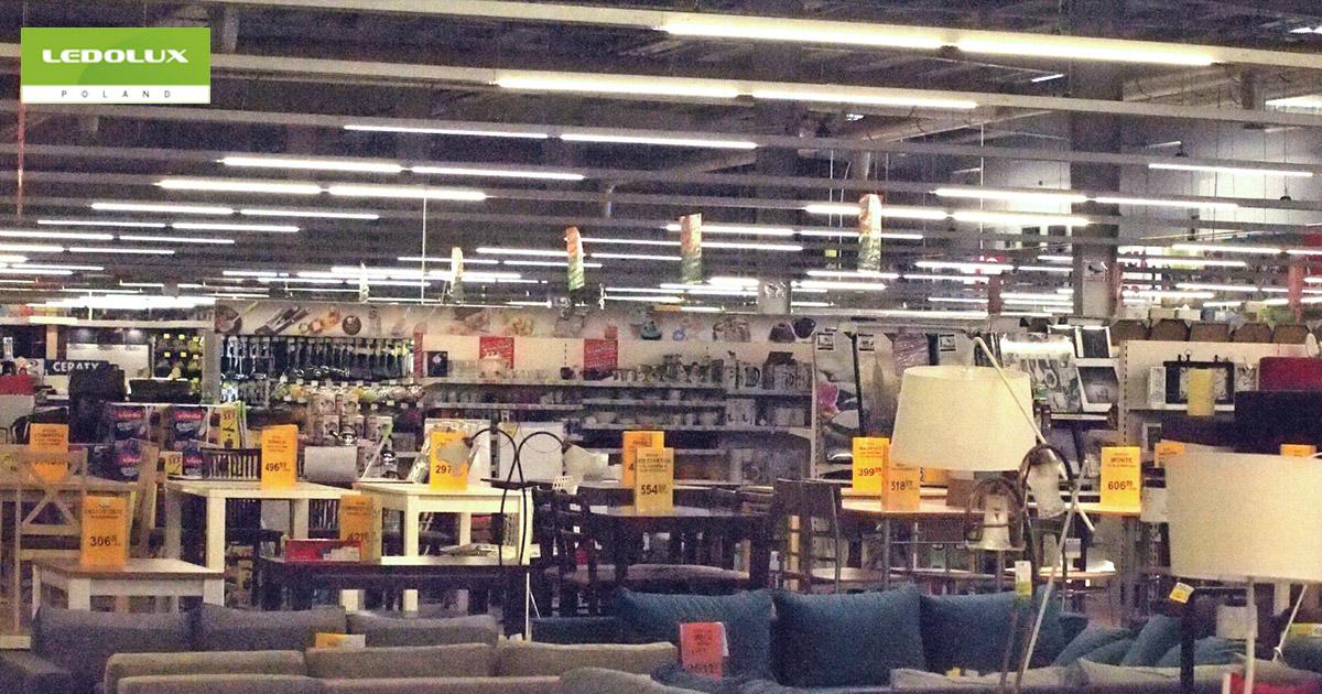 Oświetlenie sklepu Majster