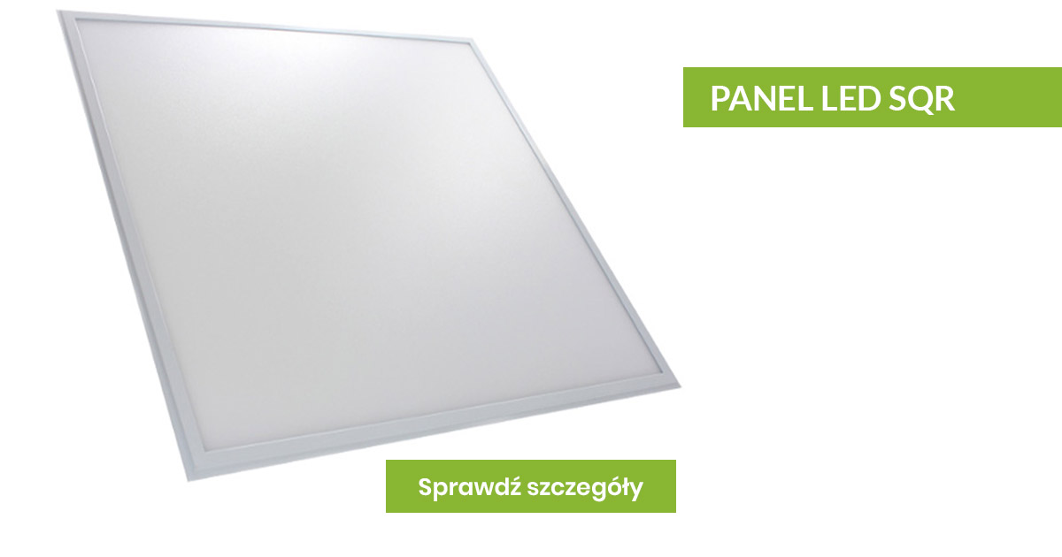 Panel biurowy LED