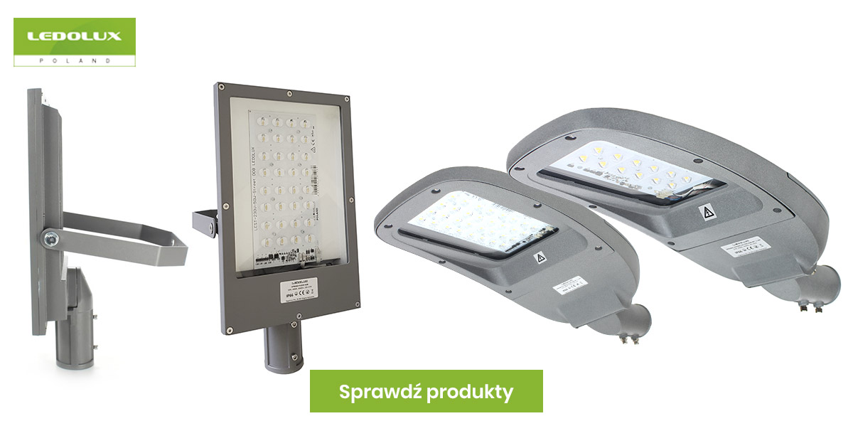 Lampy uliczne LED producenta Ledolux