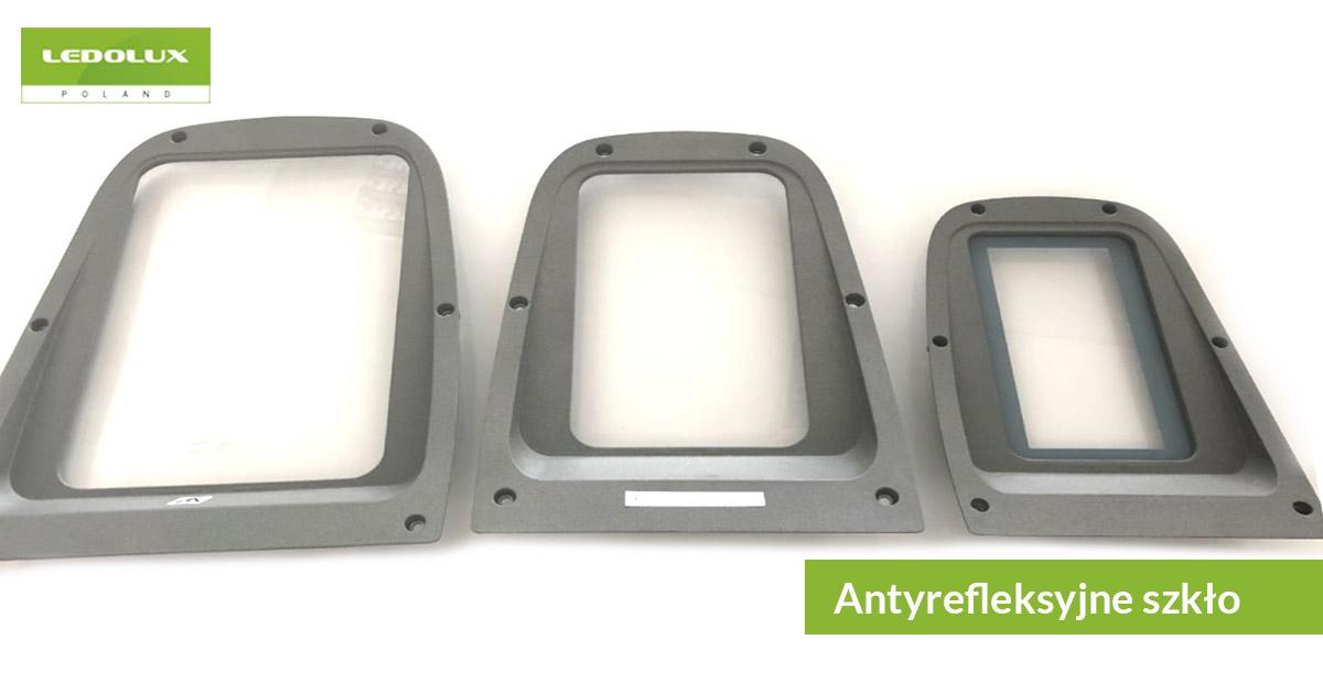 Lampy uliczne LED z antyrefleksyjnym szkłem