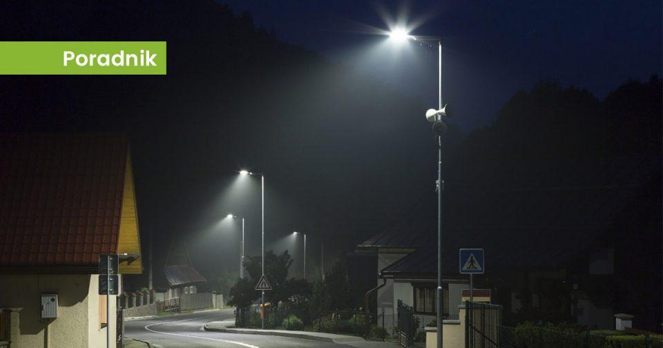 Oświetlenie uliczne LED realizacja Ledolux