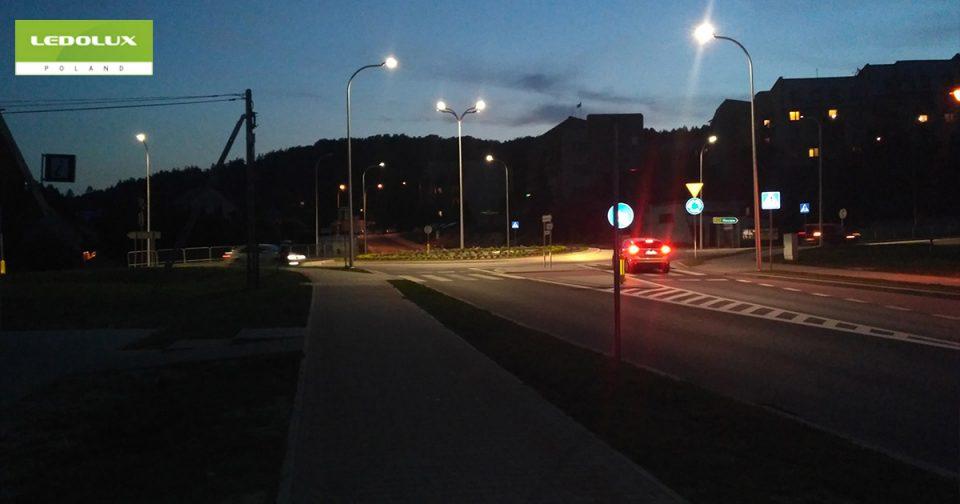 Oświetlenie Uliczne Oparte Na Technologii Led Projekty
