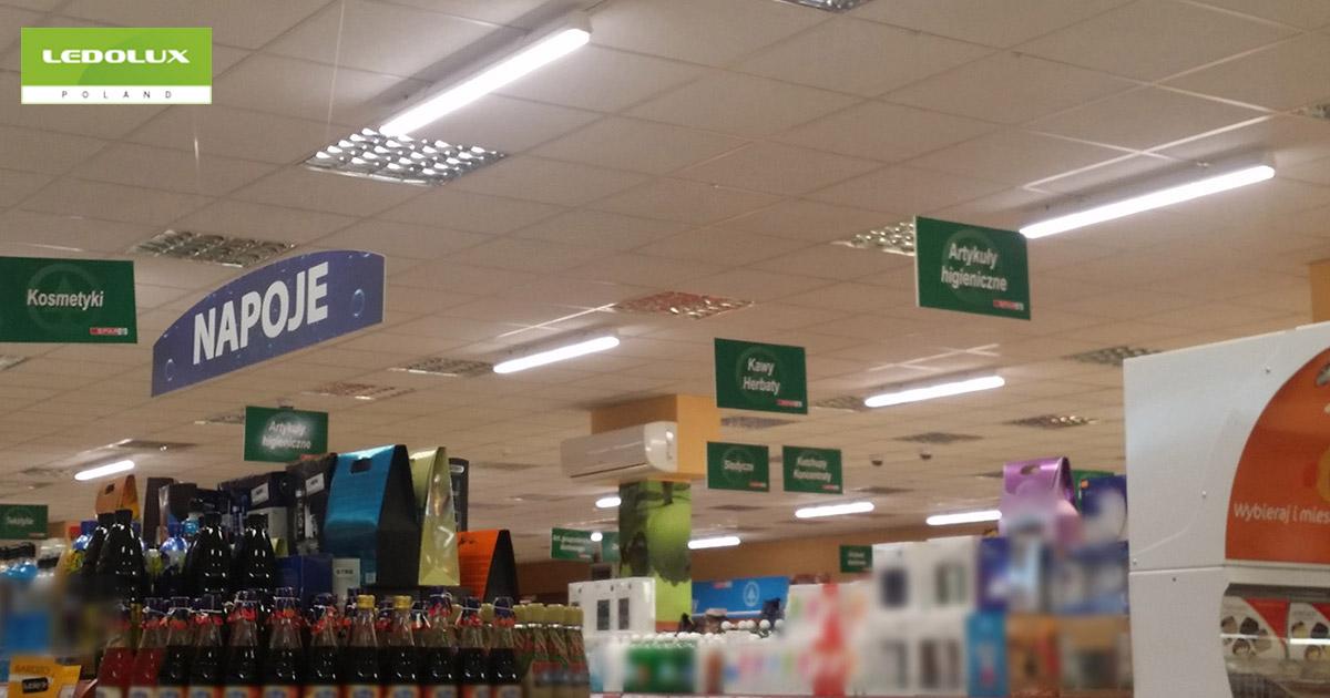 Oświetlenie sklepowe LED