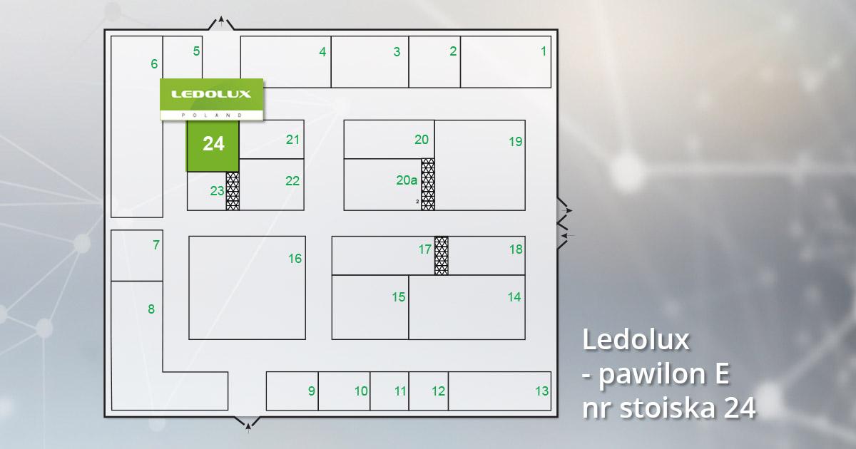 Stoisko Ledolux ENERGETAB 2019